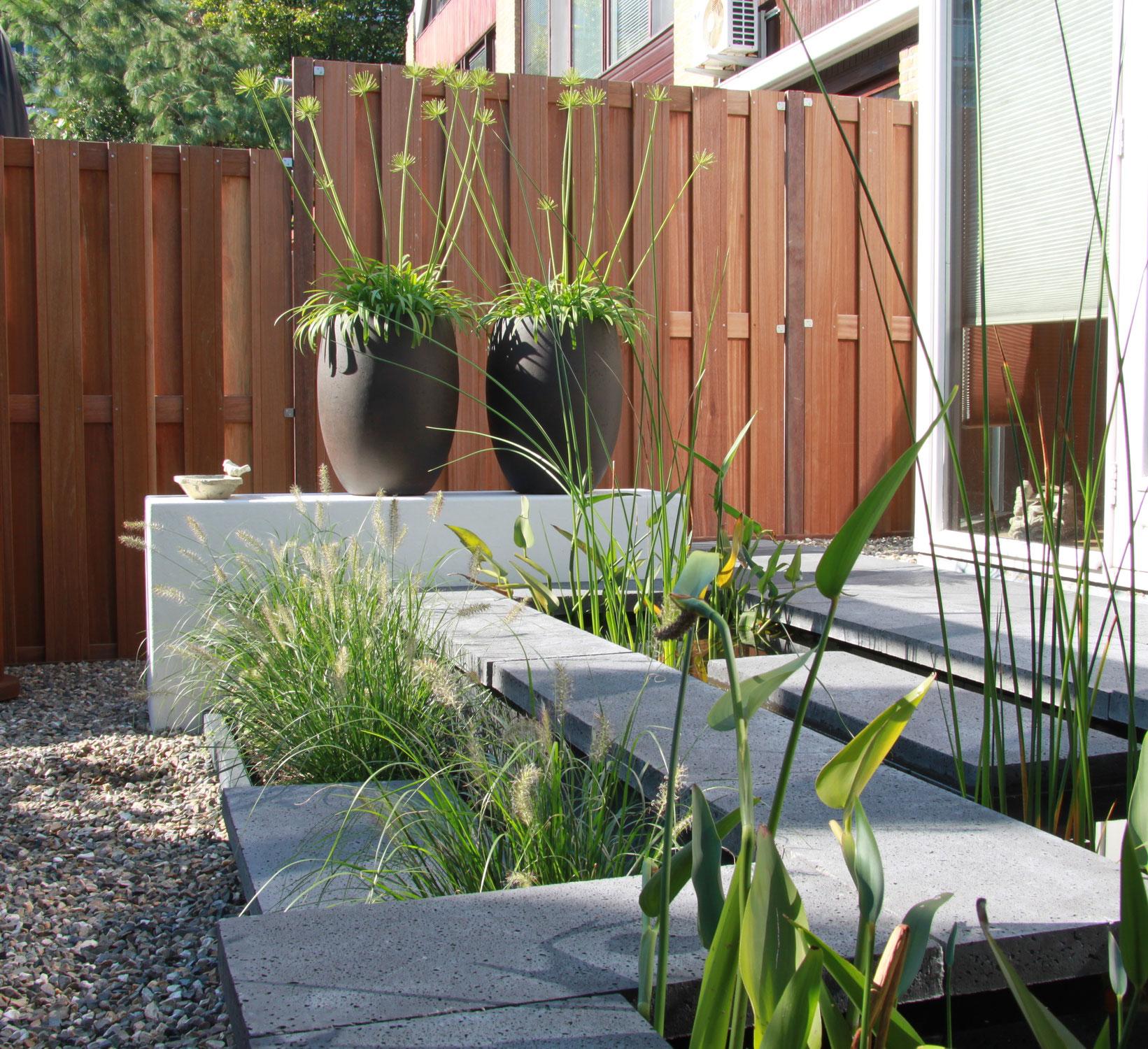 tuinelementen en tuinverlichting